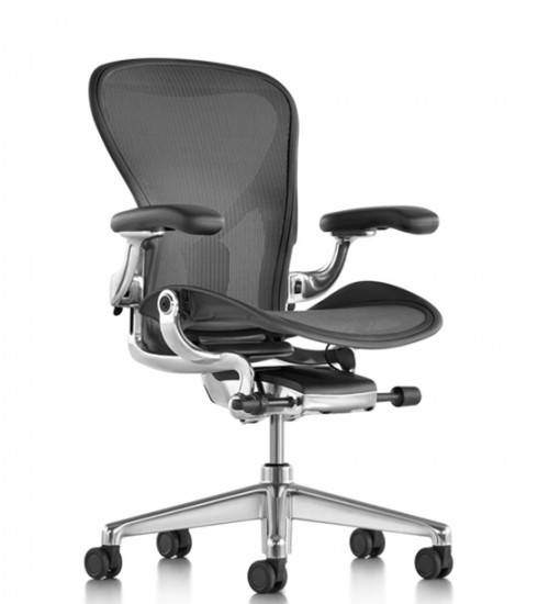 Herman Miller Aeron New Polished