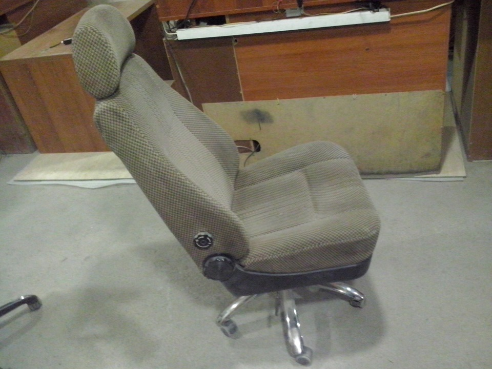 Сиденье для компьютерного кресла своими руками 29